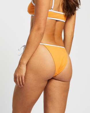 TWIIN Blossom Tie Bikini Bottoms - Bikini Bottoms (Apricot)