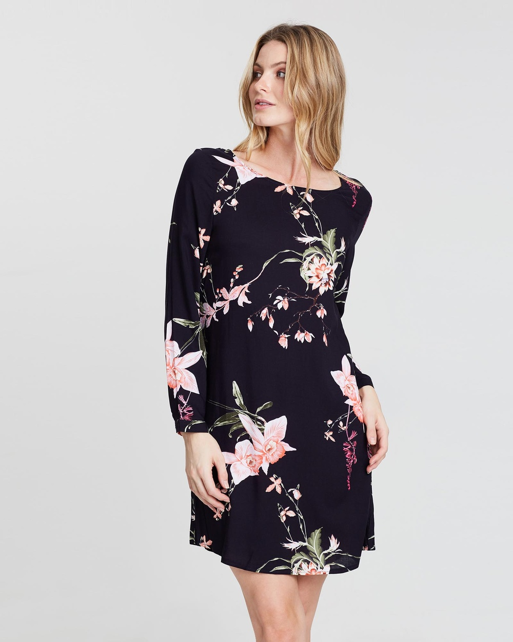 St. Frock Navy Mishka Dress