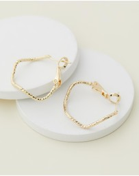 Reliquia Jewellery - Fine Swirl Earrings
