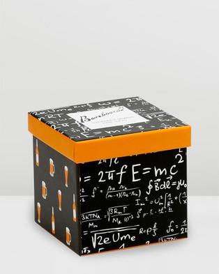 Bamboozld Genius Beer 2 Pack Gift Box - Crew Socks (Multi)