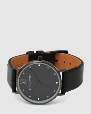 TONY+WILL Jewel - Watches (BLACK/BLACK/BLACK)