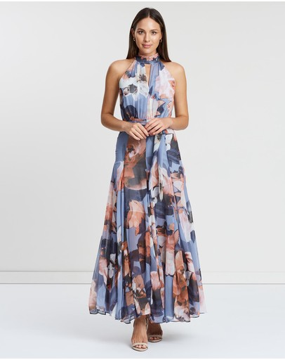 Montique Lily Gown Dusty Blue