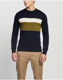 Ben Sherman - Chest Striped Crew
