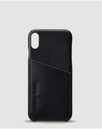 Status Anxiety - Hunter and Fox - Black iPhone X/XS Case