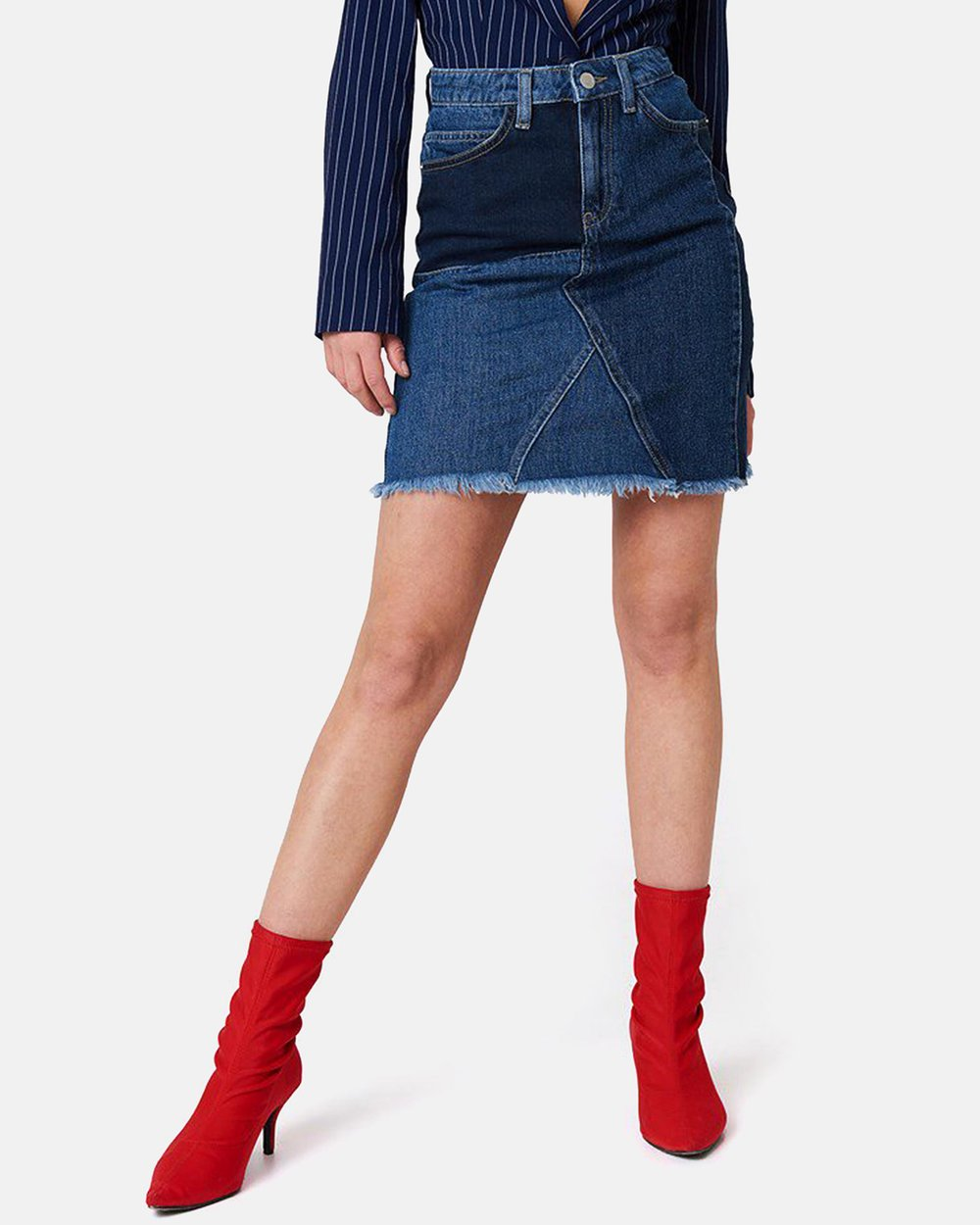 0c36708a7d Reworked Denim Skirt by NA-KD Online | THE ICONIC | Australia