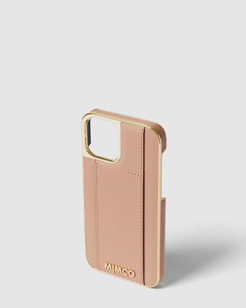 MIMCO Classico Card Hard Case For Iphone 12 Pro Tech Accessories brown 12-12