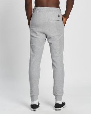 St Goliath Heist Track Pants - Sweatpants (Grey Marle)