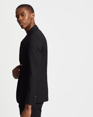 Double Oak Mills - Dom Slim Suit Jacket Suits & Blazers (Black)