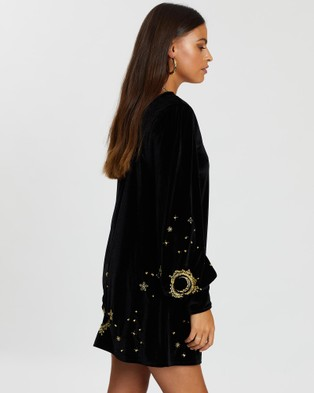 LENNI the label Shadow Long Sleeved Dress - Dresses (Black)