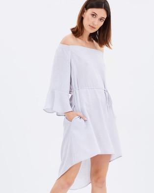 PS The Label – Wildest Dreams Dress – Dresses (Grey)
