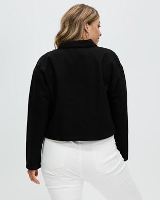 Aligne - Cyprus - Coats & Jackets (Black) Cyprus