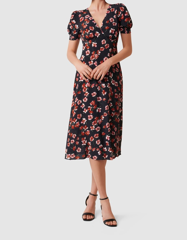 Forever New - Dani Short Sleeve Midi Dress