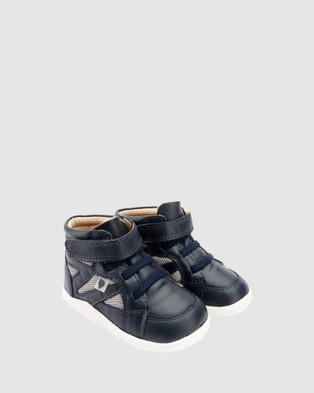 Old Soles Shizam Hi - Sneakers (Navy/Light Grey)