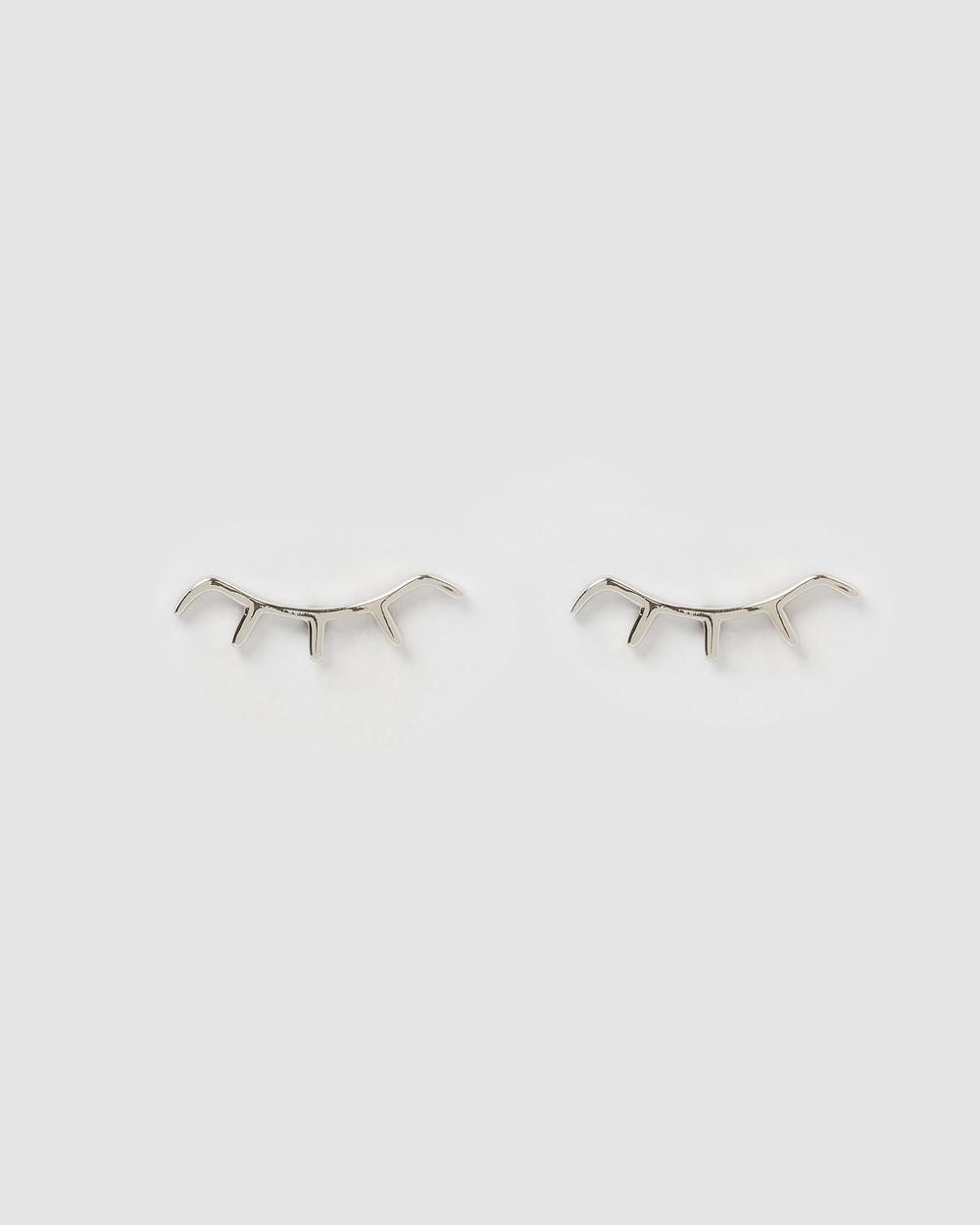Izoa Kids Tilly Stud Earrings Jewellery Silver