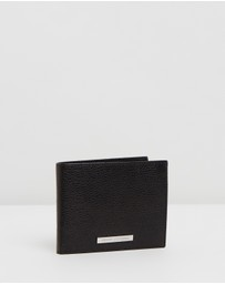 Armani Exchange - Leather Trifold Wallet