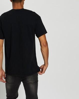 Mitchell & Ness Rodman Block Colour Tee - Short Sleeve T-Shirts (Black)