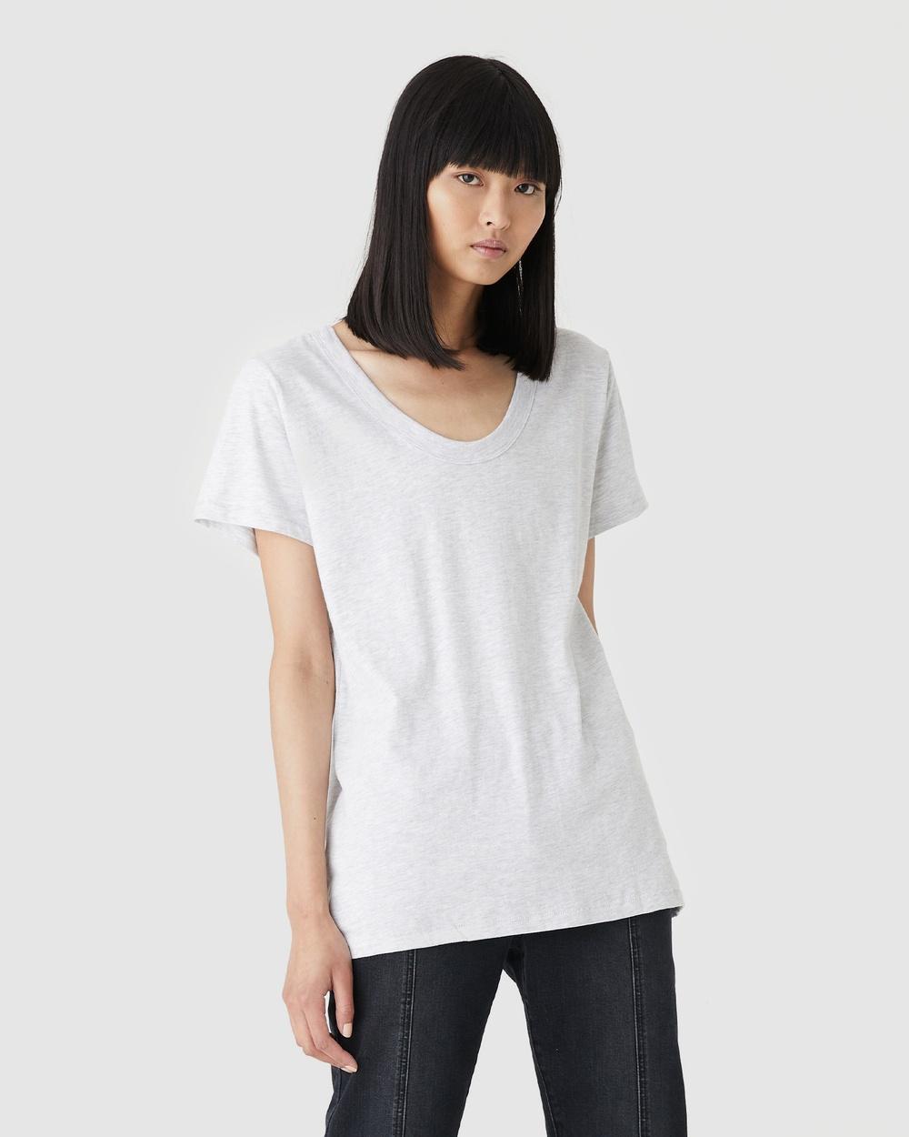 Jac & Mooki - Jess Tee - T-Shirts & Singlets (grey marle) Jess Tee