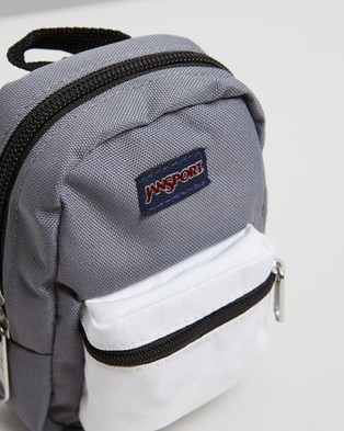 JanSport Lil' Break Accessory Pouch - Travel and Luggage (Shady Grey & White)