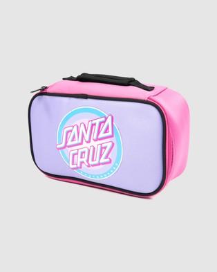 Santa Cruz Flex Dot Lunchbox - Lunchboxes (Bubblegum)