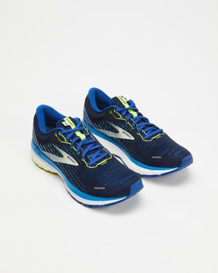 Brooks Ghost 13   Men's - Performance Shoes (Blue)