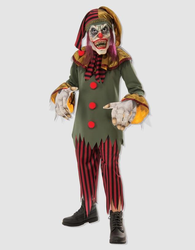 Crazy Clown Costume - Kids