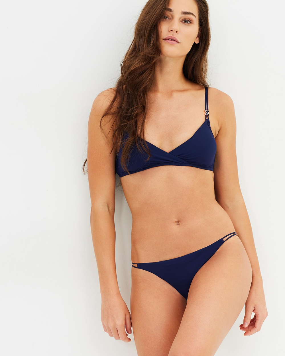 Heidi Klum Swim Anse Cocos String Bikini Bottoms Bikini Bottoms Indigo Anse Cocos String Bikini Bottoms