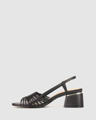 Airflex Ultimo Block Heel Sandals - Sandals (Black)