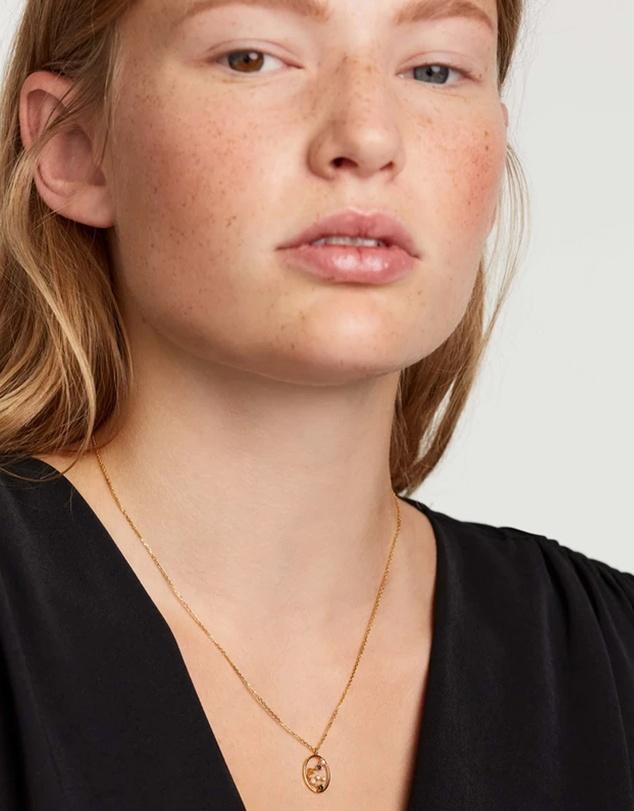 Women Aquarius Necklace