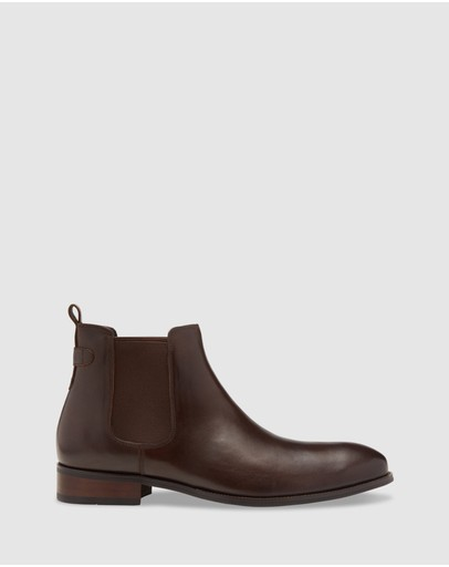 Oxford - Silas Leather Chelsea Boots