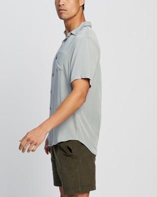 Cotton On Cuban Short Sleeve Shirt - Casual shirts (Blue Haze)