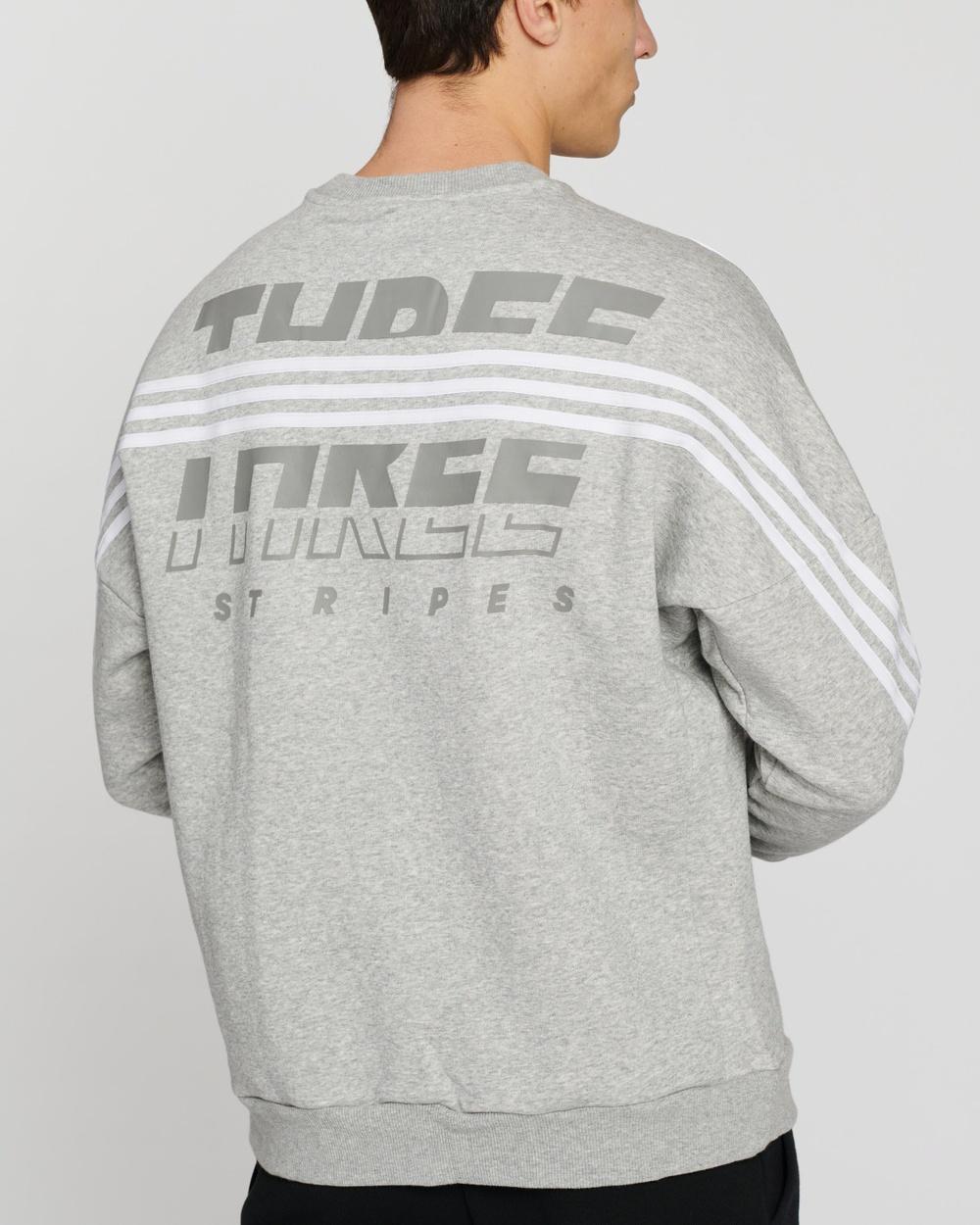 adidas Performance Sportswear Sweatshirt Crew Necks Medium Grey Heather
