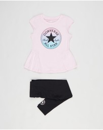 Converse - Graphic Tunic & Leggings Set - Teens