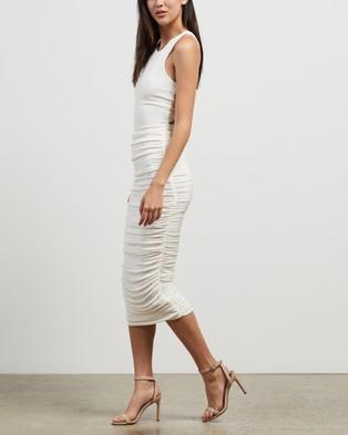 Misha Collection Cariana Dress - Bodycon Dresses (Ivory)