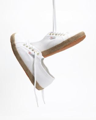 Superga 2750 Cotropeu - Sneakers (White & Gold)