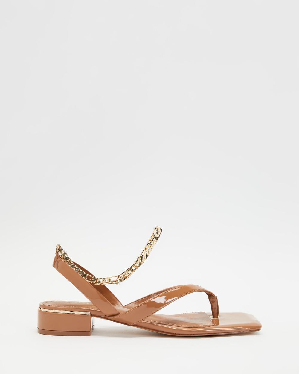 ALDO Agralella Sandals Women's Dark Beige