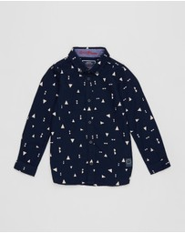 Scotch Shrunk - Slim Fit Oxford Shirt - Kids