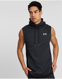 Under Armour - Double Knit Sleeveless Hoodie