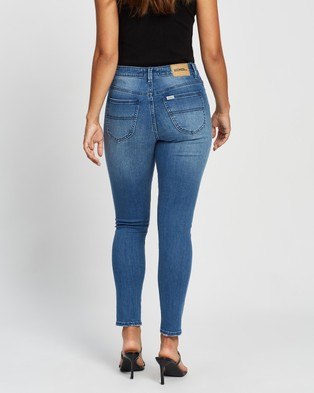 Riders by Lee Mid Ankle Skimmer Jeans - Crop (Vacation Blue)