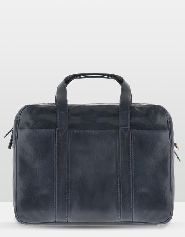 Men Kemp Leather Laptop Bag