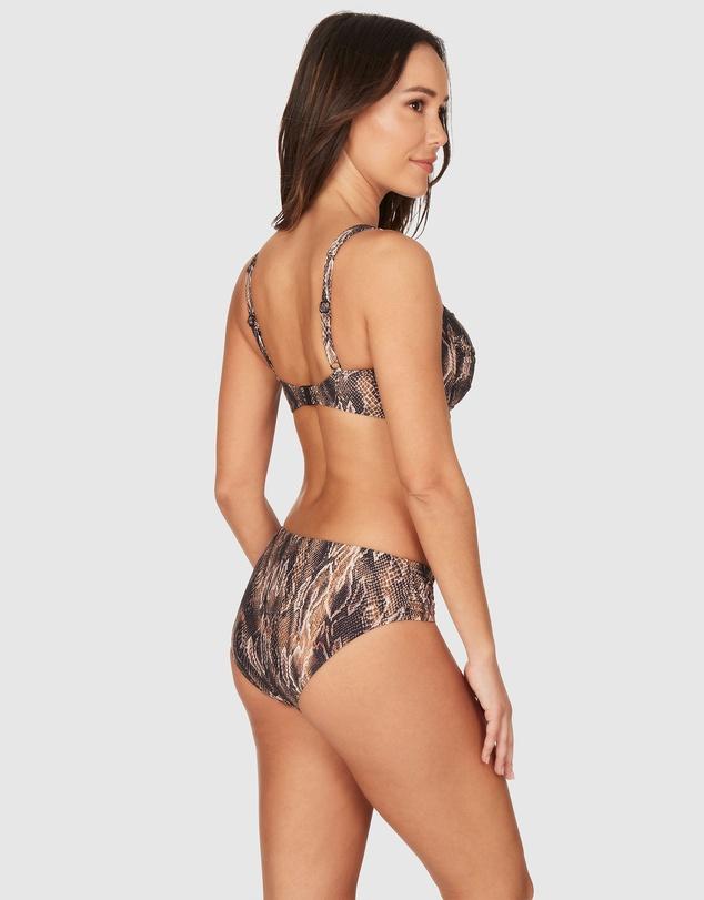 Women Rattle Me Joanne Twist Front Design Tummy Control Bikini Set Swimsuit