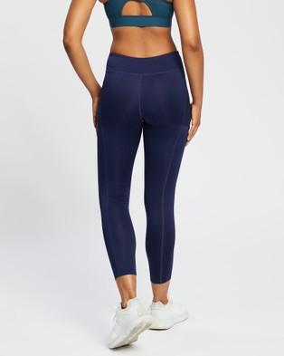 ASICS Tennis Tight   Women's - Short Sleeve T-Shirts (Peacoat)
