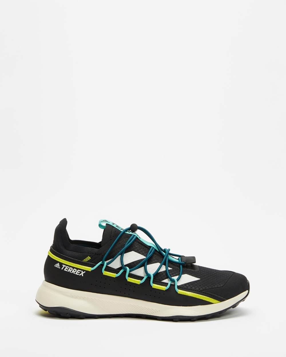 adidas Performance Terrex Voyager 21 HEAT.RDY Travel Shoes Outdoor Core Black, Chalk White & Acid Mint
