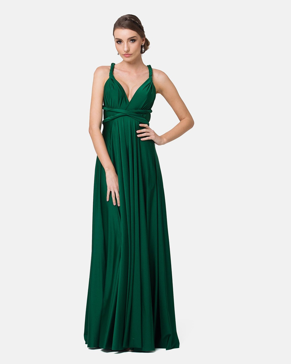 Tania Olsen Designs Emerald Wrap Dress