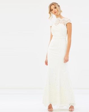 Chi Chi London – Bridal Joanna Dress Ivory