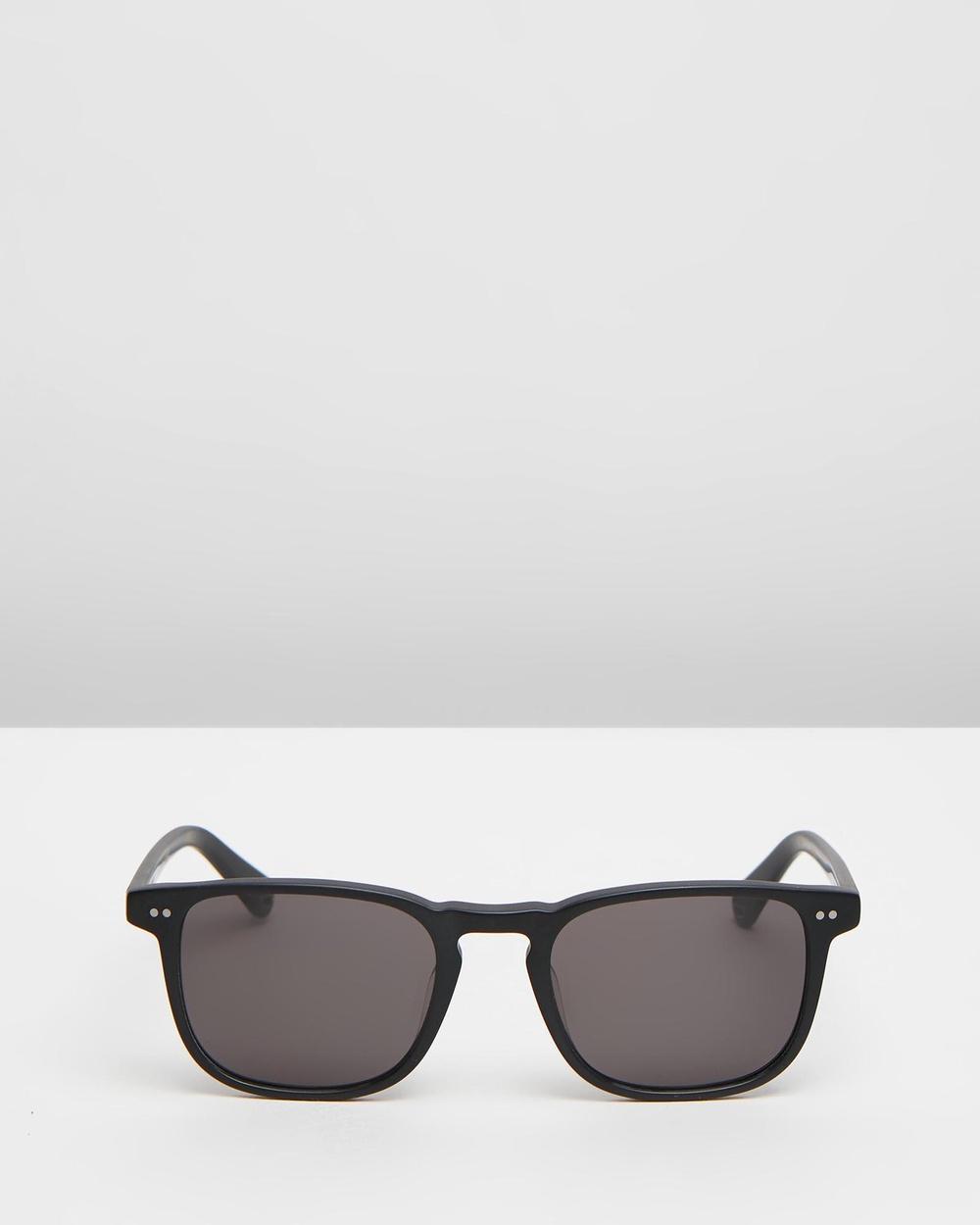Pacifico Optical Blair Square Matte Black with Polarised Grey lens