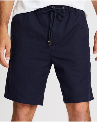 Tommy Hilfiger - Sportsman Cotton-Linen Shorts