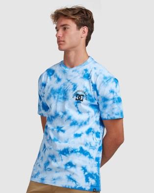 DC Shoes - Mens Tie Dye Star T Shirt Short Sleeve T-Shirts (TURKISH SEA) T-Shirt