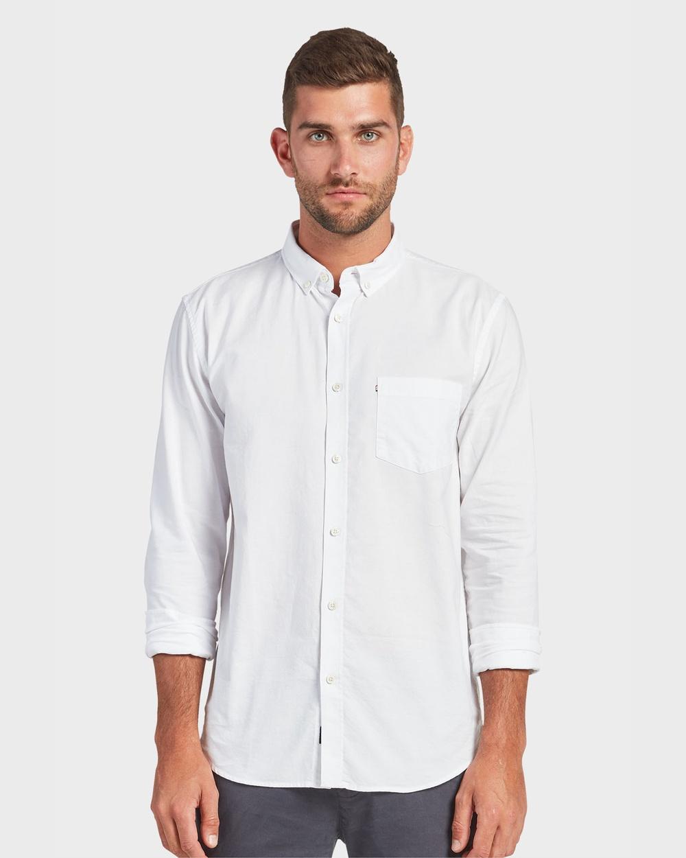 Academy Brand Dillon Shirt Shirts & Polos White