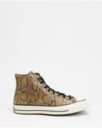 Converse - Chuck Taylor All Star 70 Reptile Leather Hi Tops - Unisex