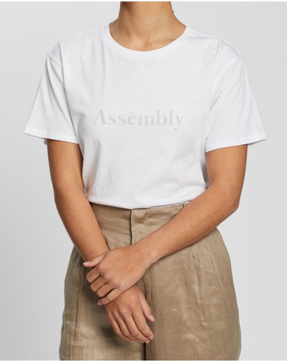 Assembly Label - Lexica Tee